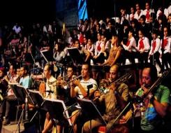 الدار البيضاء اليوم  - موسيقيون من الجيش والدرك يعزفون في الداخلة