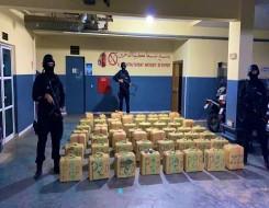 الدار البيضاء اليوم  - الشرطة المغربية تحجز طناً و900 كيلوغرام من مخدر الشيرا