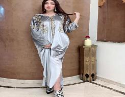 الدار البيضاء اليوم  - المغربية دنيا بطمة تتٱلق بـ عباءة زرقاء مطرزة