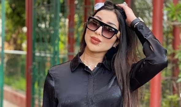 الدار البيضاء اليوم  - الفنانة حلا الترك تقدم التهاني لشقيقتها غزل نجلة الفنانة المغربية دنيا بطمة