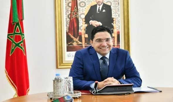 الدار البيضاء اليوم  - سفير جمهورية إيرلندا يقدم أوراق اعتماده في الرباط لوزير الخارجية ناصر بوريطة